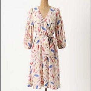 Anthropologie Dresses - Anthropologie Nathalie Lete Paris Silk size 2